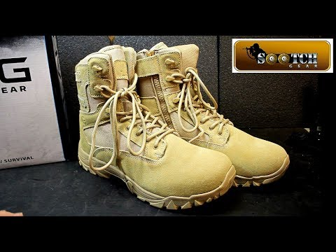 """LAPG 8"""" Side Zip Boot on a Budget"""