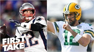 Bill Belichick would rather have Aaron Rodgers than Tom Brady - Max Kellerman | First Take