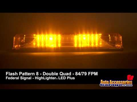 Federal Signal HighLighter LED Plus Light Bar