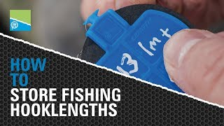 A thumbnail for the match fishing video TACKLE ROOM TIPS - HOW TO store fishing hooklengths