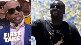 MC Hammer isn't worried about injuries stopping the Warriors' 3-peat   First Take