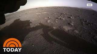 NASA Releases New Images From Perseverance Rover After Mars Landing | TODAY