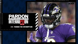 """Tony Kornheiser: """"If Lamar Jackson can't run for 1 yard, what are we paying him for?""""   PTI"""