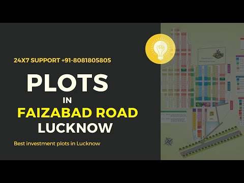 Residential Plots in Lucknow Faizabad Road   Investment plots Lucknow Faizabad road