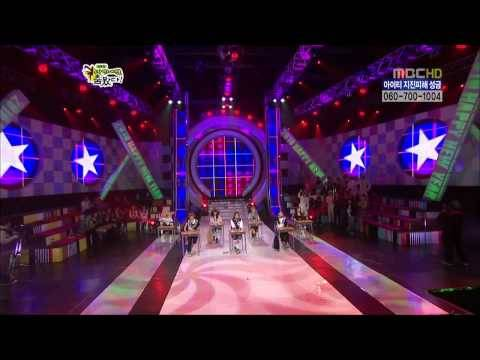 [HD] After School - Lip Gloss + Wall to Wall New Year Special Star Dance Battle 100214
