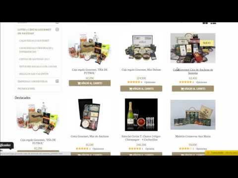 Como comprar en la tienda online gourmet Anchoasdeluxe