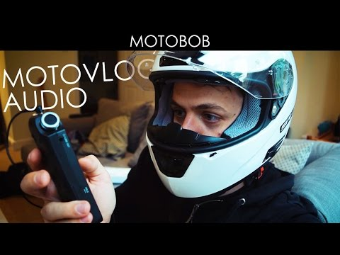 New Better Motovlog Audio (Tascam DR-05 & Sony ECM-CS3 Lav Mic)