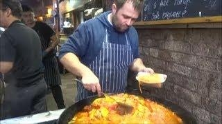 LONDON STREET FOOD, BOROUGH MARKET