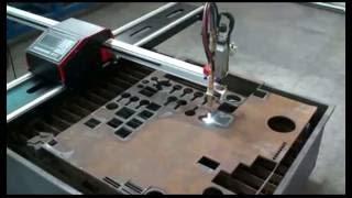 HNC-1500W Crossbow Portable CNC Plasma Flame Gas Cutting Machine