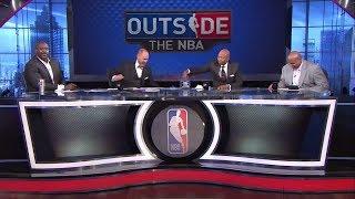 Michael Jordan Or LeBron James Who Is The GOAT? | Outside The NBA | June 2, 2018