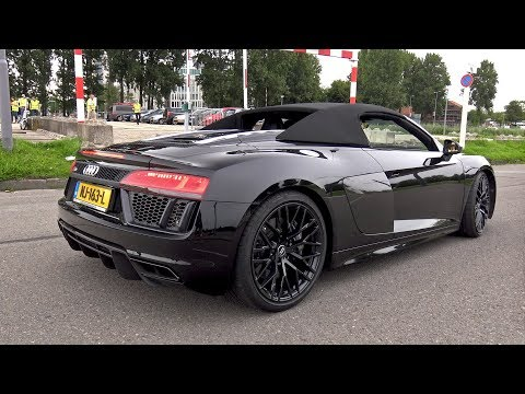 Audi R8 V10 Plus Spyder – Lovely Sounds!
