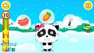 Baby panda learn pair | Trò chơi ghép đồ vui nhộn | Lồng tiếng | little panda