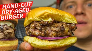 Can You Make a Hand Cut Dry Age Beef Burger in Just 10 Days? — Prime Time