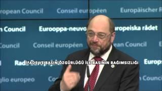 Avrupa Parlamentosu Başkanı Schulz'dan Türkiye açıklaması:
