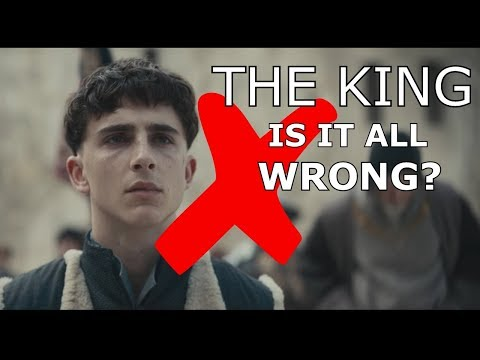 THE KING - Historically Accurate? BRUTALLY Honest Trailer Review