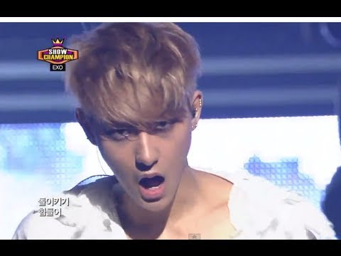 EXO - Wolf (Chinese ver), 엑소 - 늑대와 미녀 (중국어ver), Show Champion 20130626