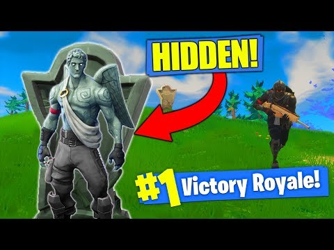 THE INVISIBLE GARGOYLE STRATEGY In Fortnite Battle Royale!