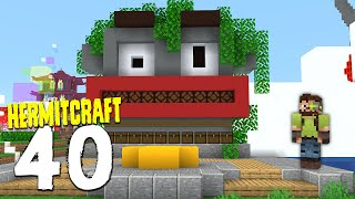 HermitCraft 7: 40 | ONE MILLION LEAVES PLEASE