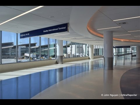 Walkthrough of LAX's New T4-TBIT Connector (time lapsed)