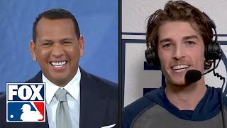 Max Fried discusses Braves' NLCS Game 1 win over Dodgers with MLB on FOX crew | FOX MLB