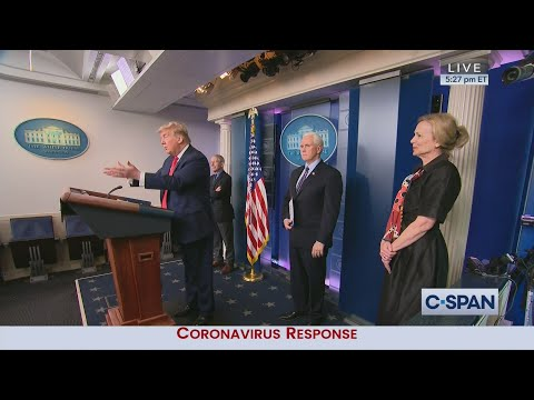 White House Coronavirus News Conference