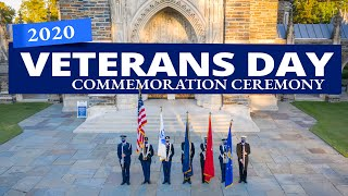 2020 Veterans Day Ceremony | Duke University video
