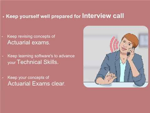 Want to know more about how to land up good job in Actuarial Profession??