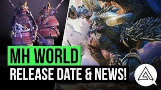 Monster Hunter World   Release Date, Flagship Monster, New Trailer & More!