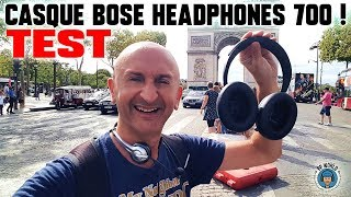 Vidéo-Test : TEST : BOSE Headphones 700 vs Bose QC35, Sony XM3, Jabra 85H !