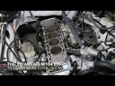 mercedes m104 head gasket replacement videos available at. Black Bedroom Furniture Sets. Home Design Ideas