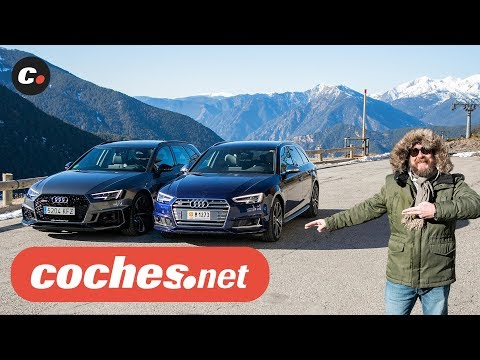 Audi RS4 Avant vs Audi S4 Avant ABT 2018 | Prueba comparativa / Test / Review en español
