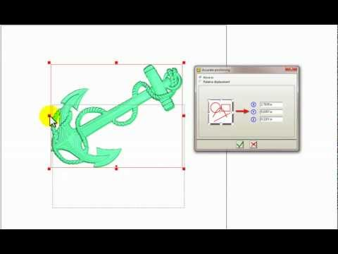 CNC Software - ArtClip3D - Wood Working - How to position a 3D model within the working area?