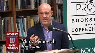 "Mark Leibovich, ""Big Game"""