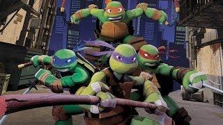 CGR Undertow - NICKELODEON TEENAGE MUTANT NINJA TURTLES review for Xbox 360