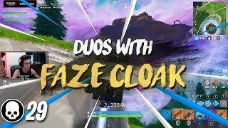 Hilarious 29 Kill duo with FaZe Cloak (Twitchcon Settings)