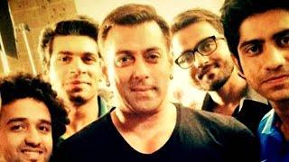 Salman Khan Meets 'Mauka Mauka' Crew On Sets Of Bajrangi B..