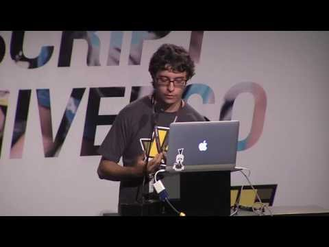 Willian Justen - JS loves Music  -  BrazilJS Conf 2016