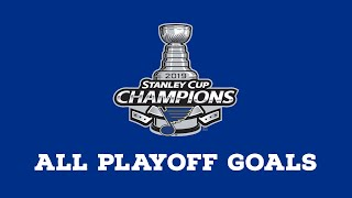 St. Louis Blues | Every Goal from 2019 Playoffs
