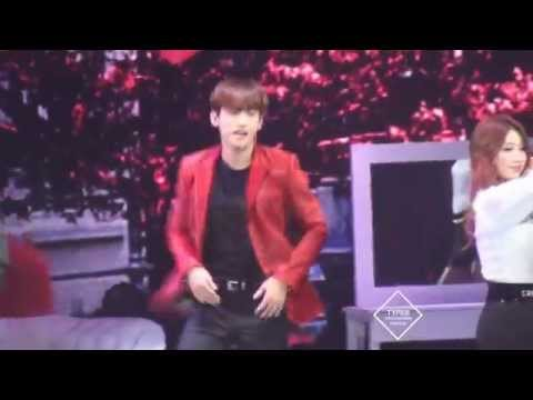 141219 T1ST0RY in Beijing Changmin- 뒷모습(Steppin')