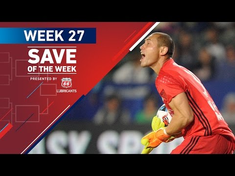 Phillips 66 Save of the Week | Vote for the Top 8 MLS Saves (Wk 27)