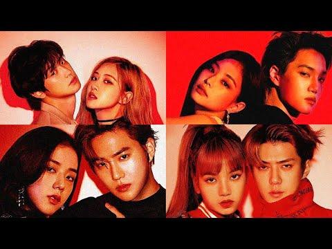 BLACKPINK (블랙핑크) X EXO (엑소) Moments Ft. Baekhyun the fanboy