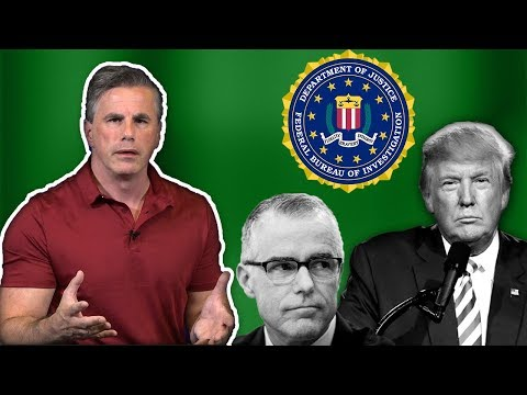 Tom Fitton: Judicial Watch Sues DOJ for Docs on Anti-Trumper Andrew McCabe's Book