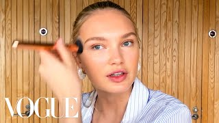 Romee Strijd's Guide to a Sun-Kissed Glow | Beauty Secrets | Vogue