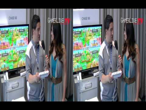E3 2011 Exclusive Hands On with the Nintendo Wii u by GamerLiveTV