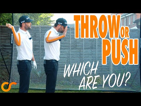 DO YOU PUSH OR THROW THE CLUB? A KEY TRANSITION MOVE