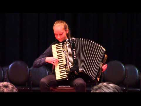 Carnival of Venice, arr Frosini, Emma Age 12 ( il Carnevale Di Venezia - Fisarmonica ) Accordion