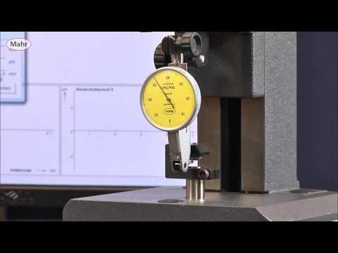 EN  Testing of a dial test indicator with Precimar Optimar 100