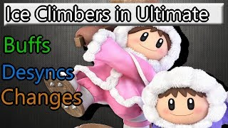 Ice Climbers in Smash Ultimate (Buffs and changes)