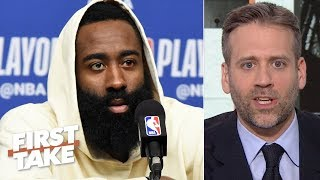 James Harden isn't worthy of 1st team All-NBA - Max Kellerman | First Take