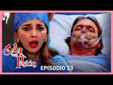 El color de la pasión: Rebeca amenaza de muerte a Alonso | C-33 | Tlnovelas